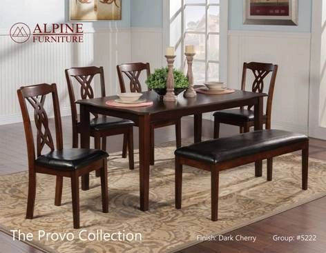 Phenomenal Elizabeth Dining Table With 4 Chairs And Bench Creativecarmelina Interior Chair Design Creativecarmelinacom