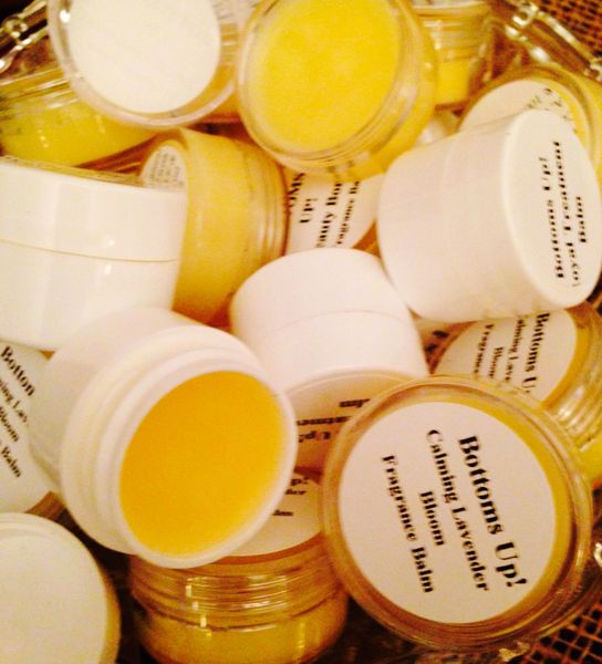"""Calming Lavender Bloom"" Special Edition {African Lavender) Coconut Oil Infused Fragrance Balms"" 1.25oz"