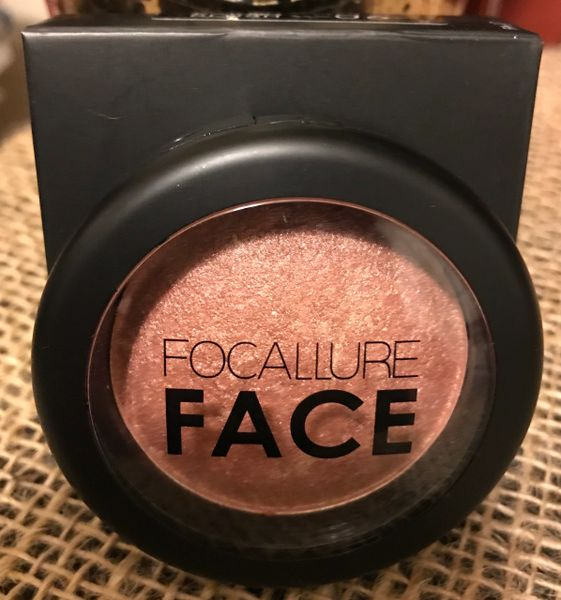 FOCALLURE Professional Baked Blush & Highlighter #6
