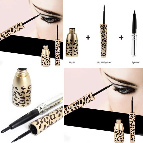 24 Hour Cat Eyes 2-in-1 Classic liquid eyeliner and retractable eyeliner Pencil color black
