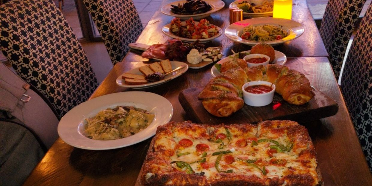 Exceptional variety of Authentic scratch Italian dishes