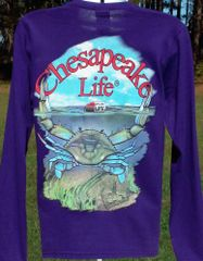 Women's Crab Long Sleeve