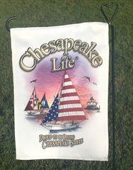 Skipjack Garden Flag