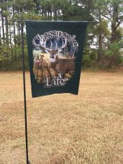Large Buck Flag