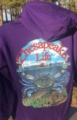 Crab Hoodie w/ Zipper