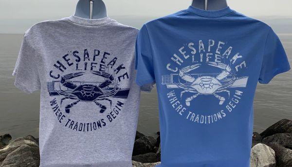 Crabbing Traditions Short Sleeve Shirt