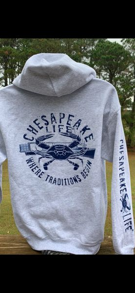 Crabbing Traditions Hoodie