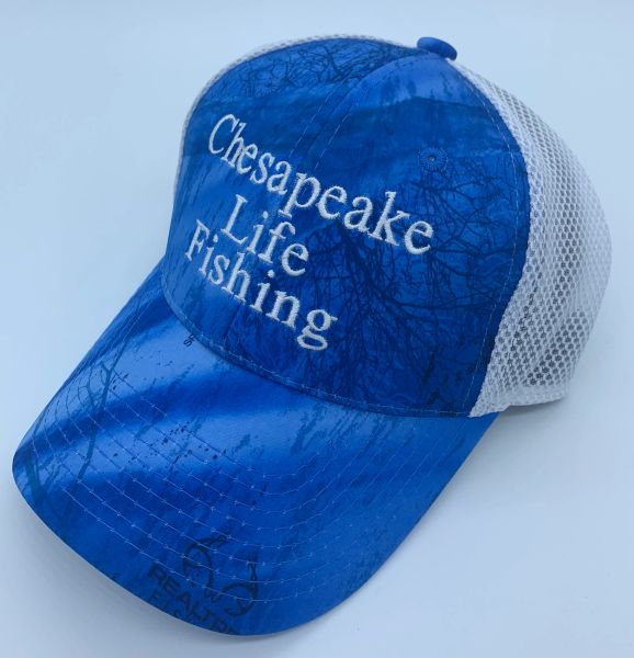 Chesapeake Life Fishing Trucker Hat