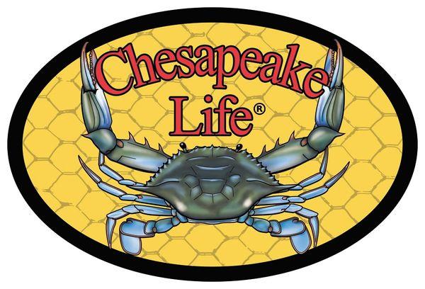 Chesapeake Life Window Decal