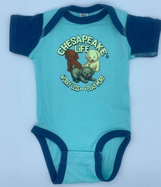 Baby Labs Short Sleeve Onesie