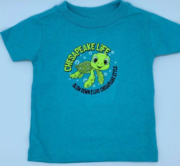Baby Turtle Short Sleeve Tee