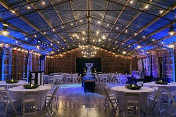 reception barn wedding venue modern and historic at thornfield plantation