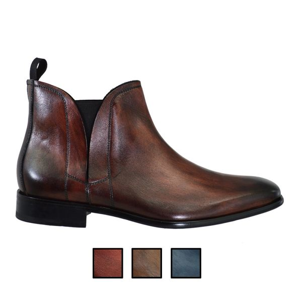 Toscana 3962 Calf Leather Boots 3 Options