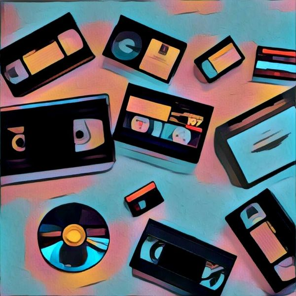 10 Videos Tapes Transferred To DVDs