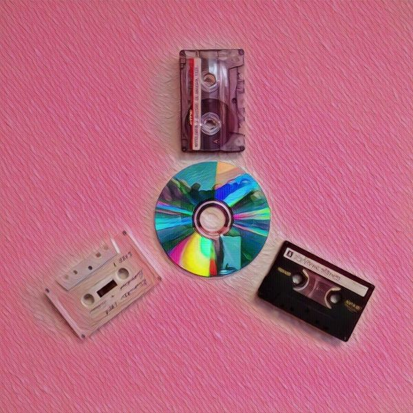 3 Audio Cassette Transferred to CDs