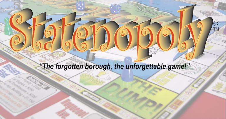 Statenopoly Board Game - The Forgotten Borough, The Unforgettable Game!