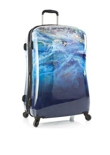 "Heys America Blue Agate 26"" Fashion Spinner Luggage"