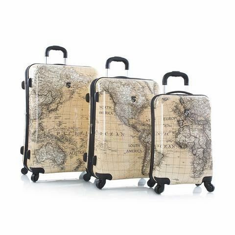 Heys Classical World 3 Piece Hardside Spinner Luggage Set