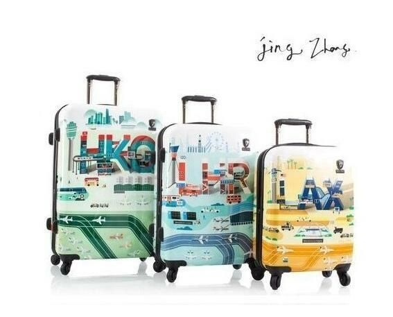 Heys Jing Zhang I.A.T.A. Fashion Spinner 3 Piece Hardside Luggage Set