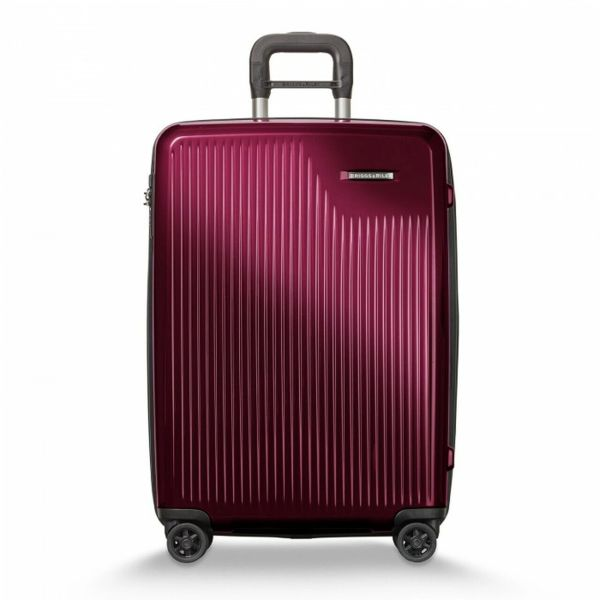 Briggs and Riley Sympatico Medium Expandable Spinner - Burgundy