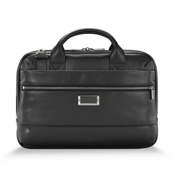 Briggs and Riley @ Work Leather Slim Brief