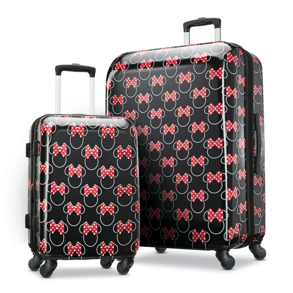 American Tourister Disney Minnie Bows 2 Piece Hardside Luggage Set