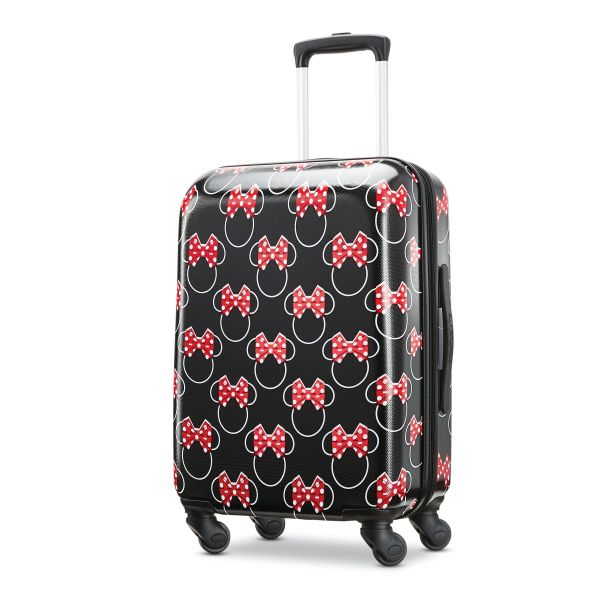 American Tourister Disney Minnie Bows 20 Inch Carry On Hardside Luggage
