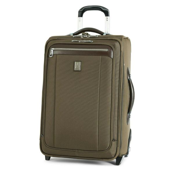 "Travelpro Platinum Magna 2 22"" Expandable Rollaboard Suiter Luggage - Olive"