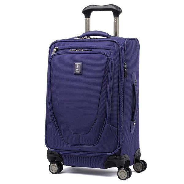 "Travelpro Crew 11 21"" Expandable Carry On Spinner Suiter Luggage - Indigo"