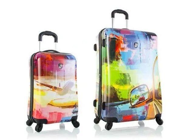"""Heys Cruise 2 Piece 21"""" 30"""" Hardside Spinner Luggage Set"""