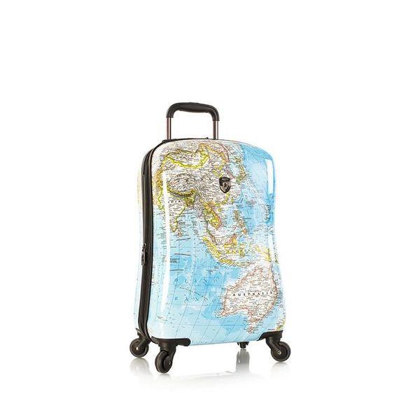 "Heys Journey 2G Maps 21"" Carry On Hardside Spinner Luggage"