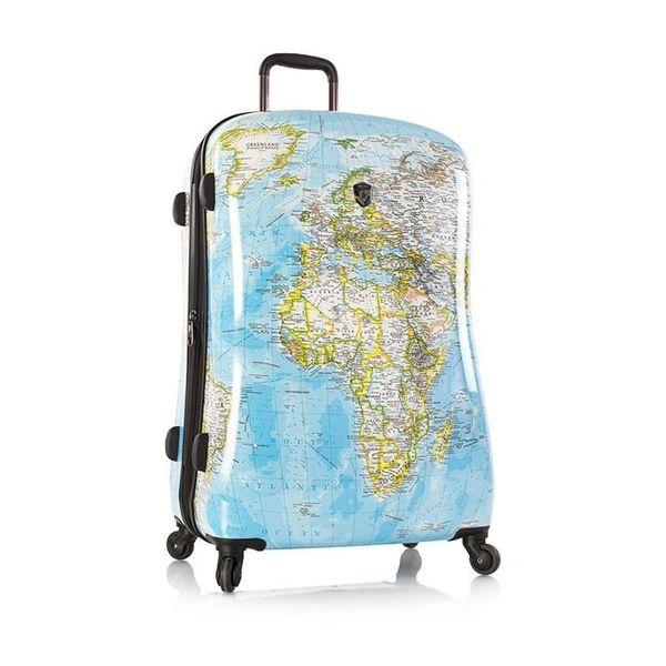 "Heys Journey 2G Maps 30"" Hardside Spinner Luggage"