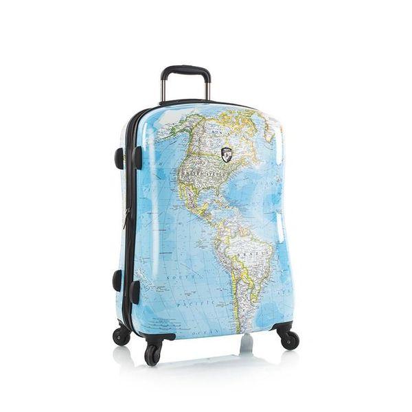 "Heys Journey 2G Maps 26"" Hardside Spinner Luggage"