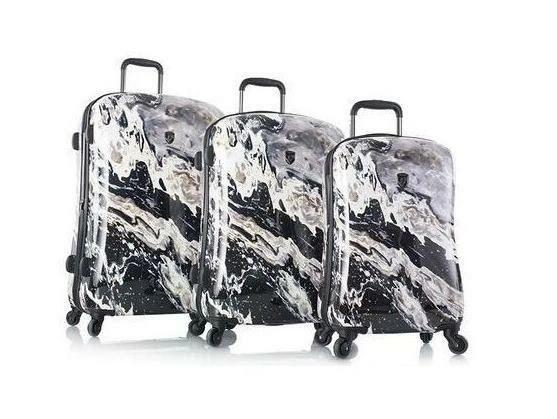 Heys America Nero Fashion Spinner 3 Piece Luggage Set