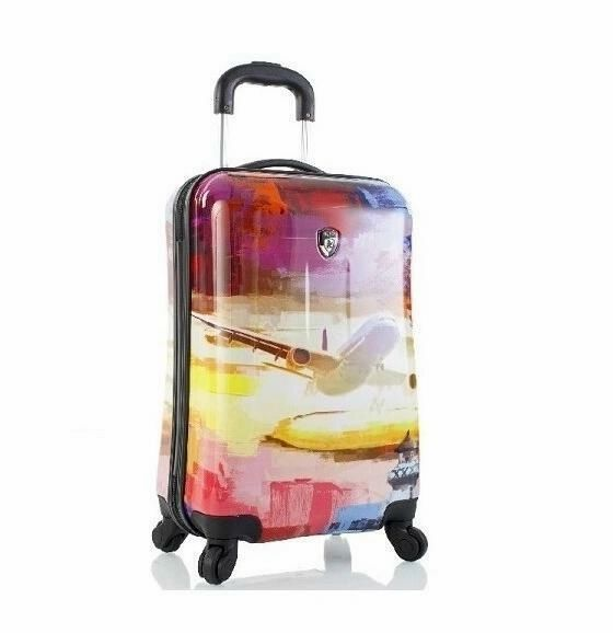 Heys Cruise 21 Inch Carry On Hardside Spinner Luggage