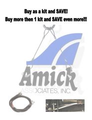 AMICK, King Pin Tether & Front Axle Choke Style Tether KITS