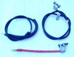 Battery Cable Set 1970-1971 Mustang Heavy Duty 428 Cobra Jet / 429 Big Block
