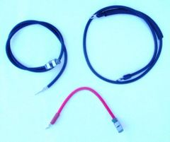 Battery Cable Set 1968-1969 Mustang Shelby Cougar 428 Cobra Jet