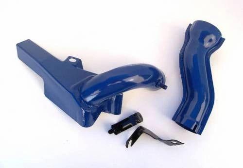 428 Cobra Jet Exhaust Manifold Heatshield & S-Tube Riser 68-70 Mustang Shelby