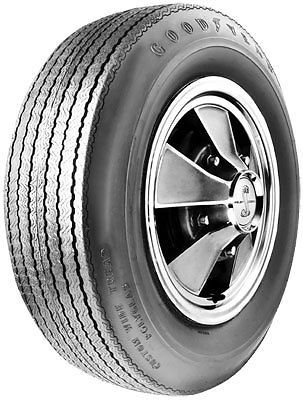 E70-15 Goodyear Polyglas Blackwall Tire 1968 Shelby GT500KR Late 350/500
