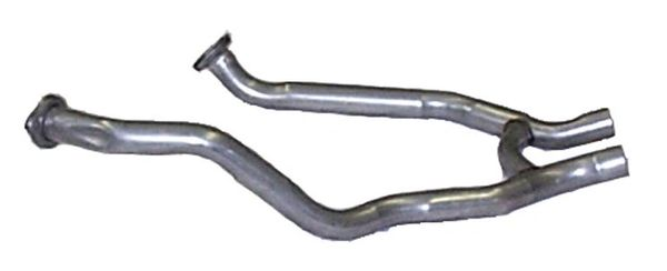 "Dual Exhaust H-Pipe 2.25"" 1969 390 428 Mustang"