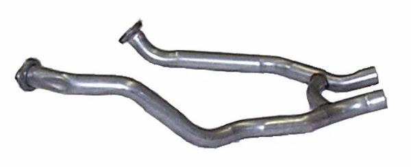 "Dual Exhaust H-Pipe 2.25"" 1969-1970 Boss 429 (with Heat Riser Tube)"