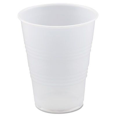 A World Of Deals 7 oz. Plastic Cups, Bulk - 12 Packs of 100 (1,200/Case)