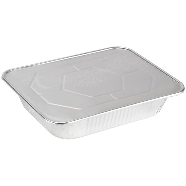 9 X 13 Half Size Deep Foil Steam Pans with Lids 10 Pack
