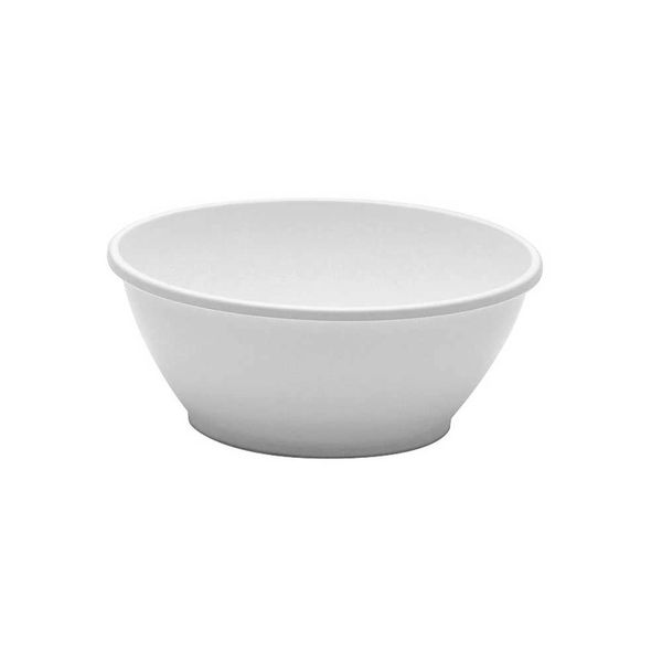 Comet Plastic High-Heat Round Dessert Dish, 6-Ounce, White (1000-Count)