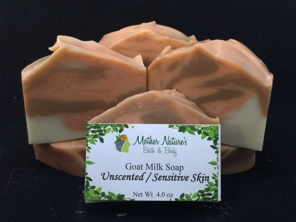 Sensitive Skin Goat Milk Soap-Unscented