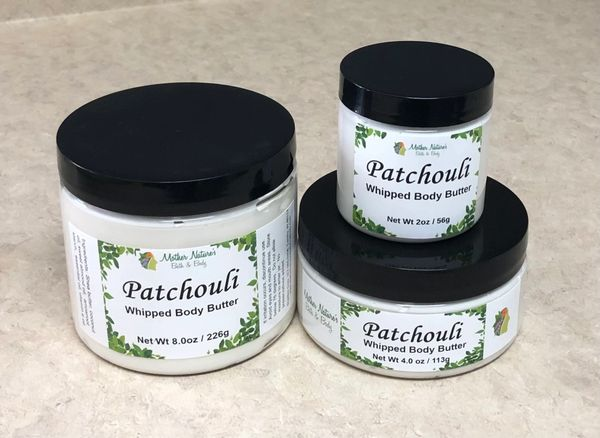 Patchouli Whipped Body Butter - large