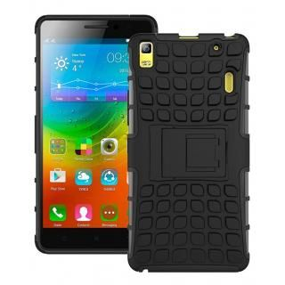 new products 4d5b5 ab03e Lenovo A7000 Back Cover Defender Case