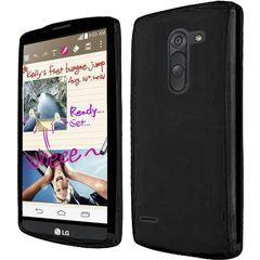 LG G3 Stylus Back Cover Soft - Black