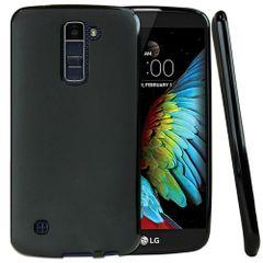 LG K10 Back Cover Soft - Black
